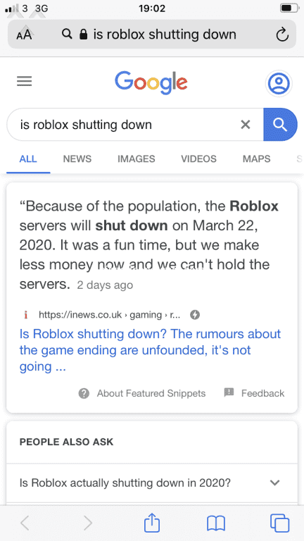 Is Roblox Getting Shut Down Forever Jan 17 2020 Pissed Consumer