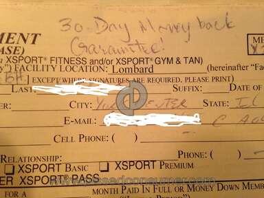 Xsport Fitness - Fraud