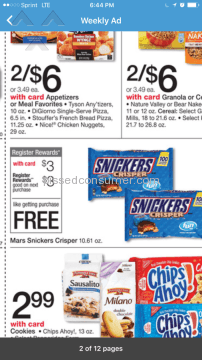 Walgreens Free Snickers Crispers Deal