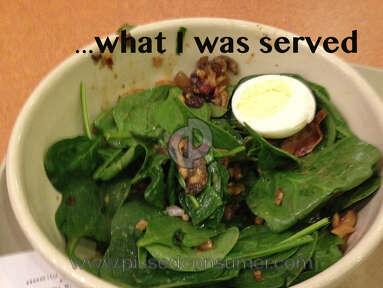 Panera Bread Salad review 34559