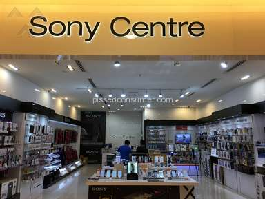 Sony Malaysia - Chased out of the Sony Centre in Sunway Pyramid