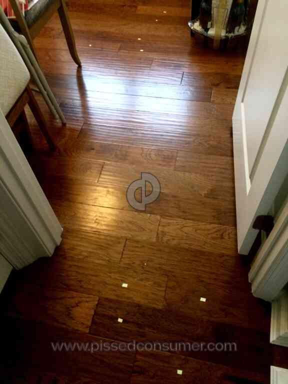 Ryan Homes - Poor flooring installation- 9 floorboards popping up ...