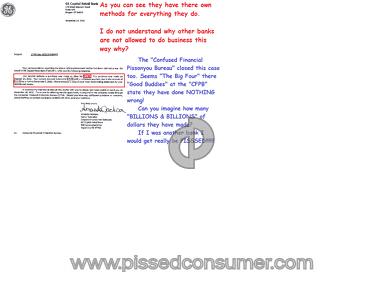 Ge Capital Retail Bank Banks review 71995
