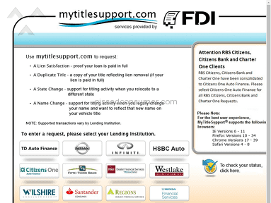 Hsbc Bank Usa - HSBC Release of Lien - www MyTitleSupport com Aug 13