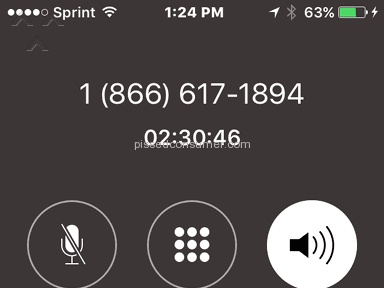 Experian - 2 hours and 40 mins to answer call