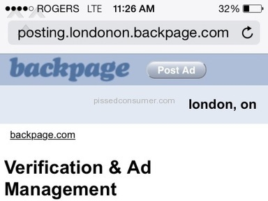 Backpage Advertisement review 57663
