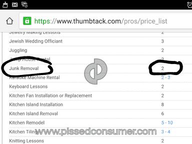Thumbtack Website review 140137