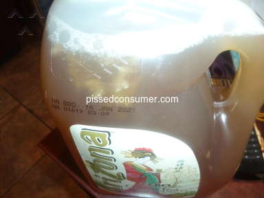 Arizona Beverages - Mold in your drinks