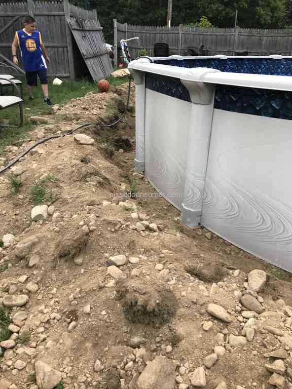 2 namco pools pool installation reviews and complaints for Pool installation