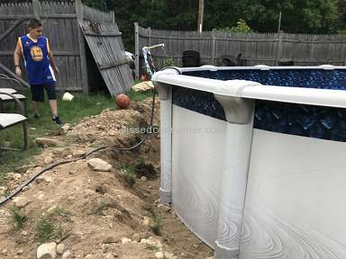 Namco Pools - Pool installation disaster