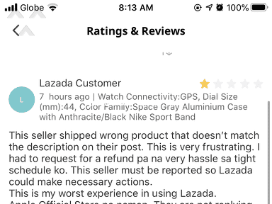 Lazada Philippines Auctions and Marketplaces review 818386