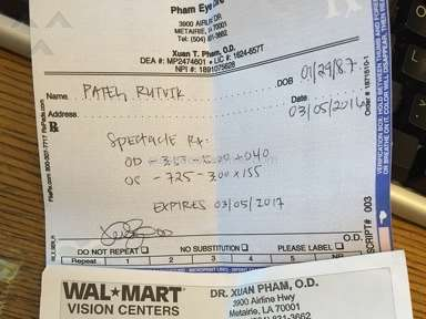 Awful experience with Pham Eye care Dr Pham Sams club Metairie LA