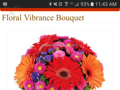 Avasflowers Floral Vibrance Bouquet review 152220