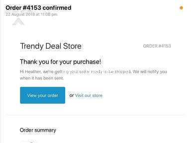 Trendy Deal Store Shipping Service review 346406