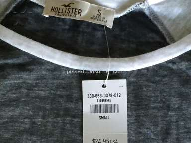 Hollister Footwear and Clothing review 69811