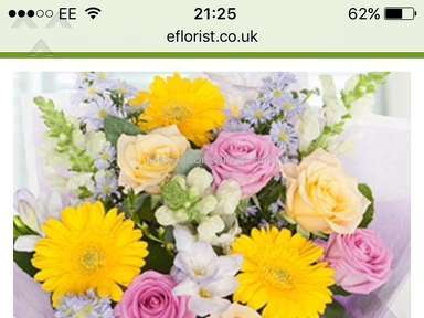 EFlorist -  Pretty Pastels Arrangement Review from Exeter, Devon