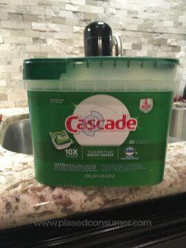 Cascade Clean Platinum Pods Dishwashing Detergent