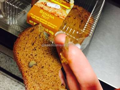 CSM Bakery Products - Banana Cake Review from San Antonio, Texas