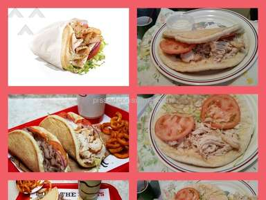 Arbys Turkey Gyro Sandwich review 127929