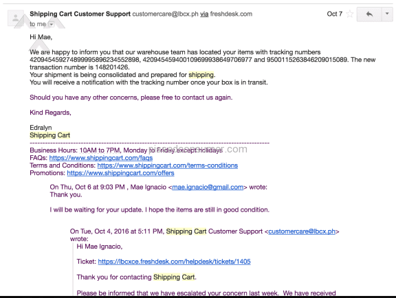 Lbc Express Delivery Service