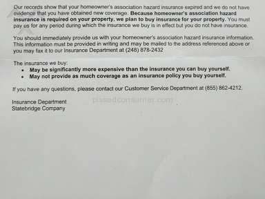Statebridge - They know how to make customers upset!!