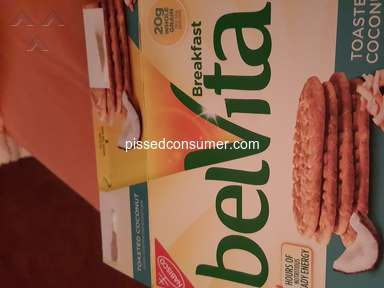 Belvita - Inner packages open-only 3 inner packs in box