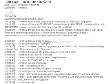 EFavorMart - Horrible Customer Service!!!!!!!!!!!!!!!!!!!!