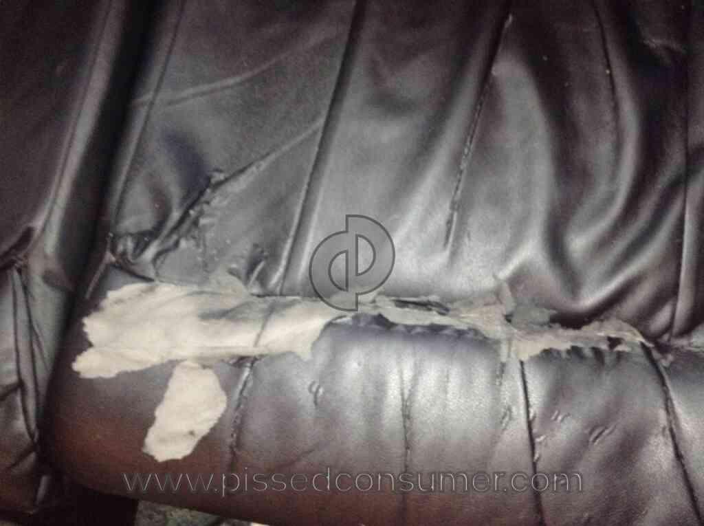 Big Sandy Furniture Sandys Blended Leather Is Junk Dont