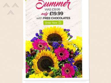 Prestige Flowers - Indian Summer Bouquet Review from Cronton, England