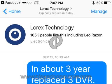 Lorex - As bad as it goes