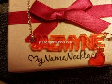Mynamenecklace - Necklace Review from Port Saint Lucie, Florida