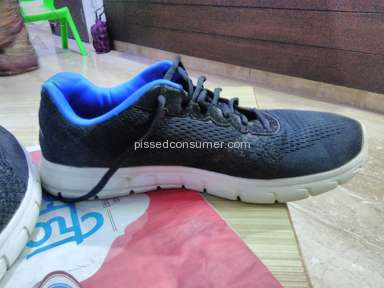 Skechers - My first experience with the shoes is very bad.