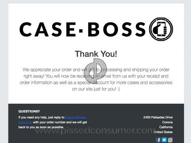 Case Boss Ripoff