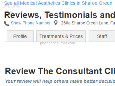 The Consultant Clinic - Fair play?