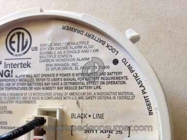 First Alert Sc9120b Smoke Detector review 155018