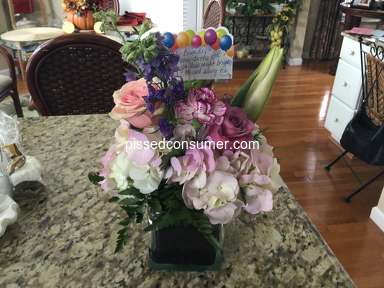 FlowerShopping - DO NOT ORDER FROM THIS COMPANY
