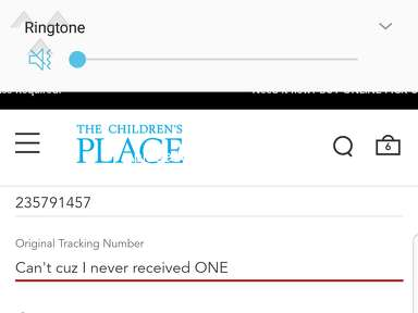 The Childrens Place - Can't even email customer service