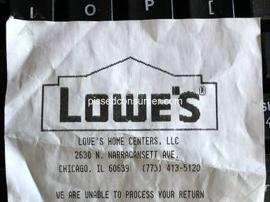 Lowes Supermarkets and Malls review 620331