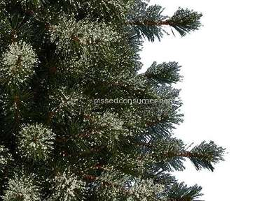 Balsam Hill Frosted Sugar Pine Christmas Tree review 244004