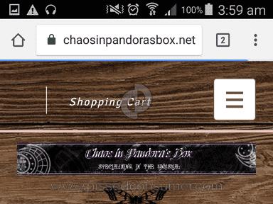 ChaosInPandorasBox - Chaos In Pandoras Box Scam!