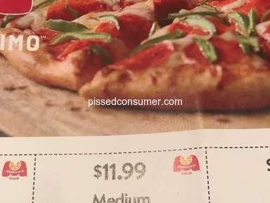 Marcos Pizza - Location Not Honoring Coupon