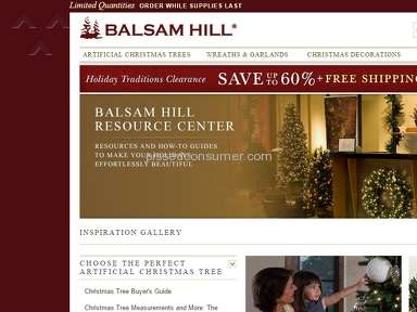 Balsam Hill Auctions and Internet Stores review 108659