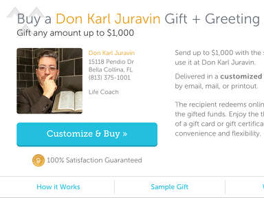 Holy Land Ministry of Montverde - Don't let this scammer Don Juravin steal your money with his FAKE GOOGLE REVIEWS