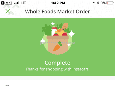 Instacart Delivery Service review 240532