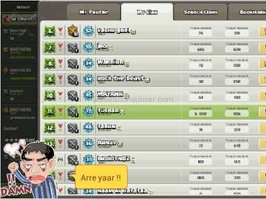 Supercell - Clash Of Clans Video Game Review from Bhopal, Madhya Pradesh