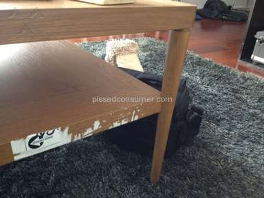 Urban Express - Destroyed our furniture with sticker, late, horrible