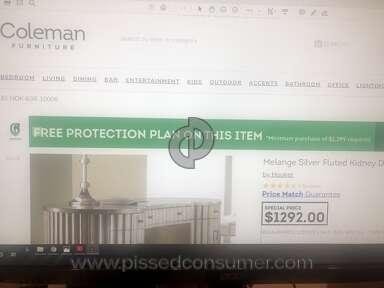 Coleman Furniture Hooker Furniture Desk review 382784
