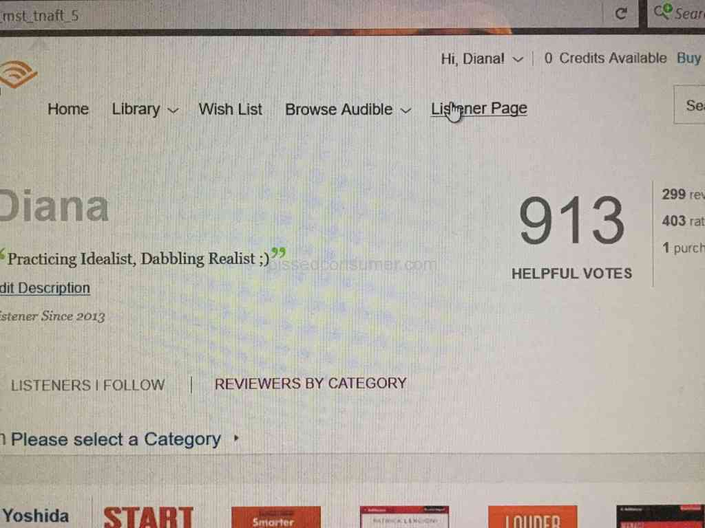 Audible - ALL 530 books in Library removed in retaliation for neg