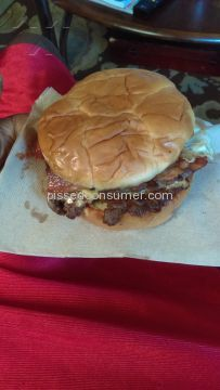 Steak N Shake Bacon Lovers Steakburger