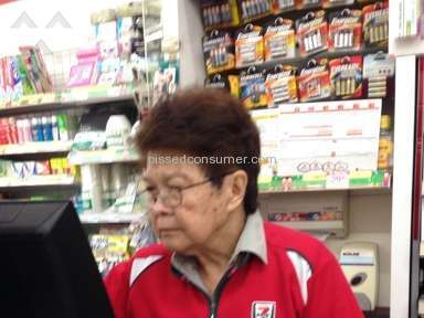 7 Eleven - Rudest cashier on earth!